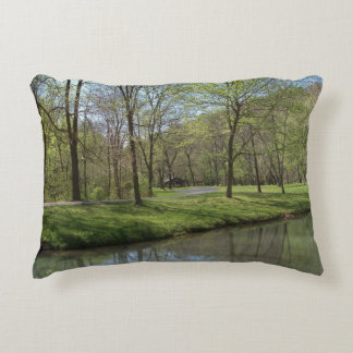 """Lone PineBrushed Polyester Accent Pillow 16"""" x 12"""""""