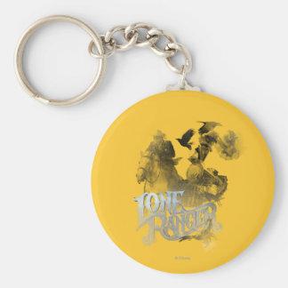 Lone Ranger 1 Basic Round Button Keychain