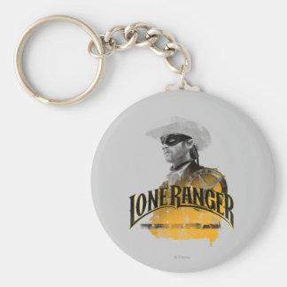 Lone Ranger 2 Basic Round Button Keychain