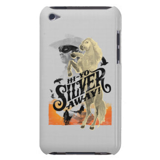 Lone Ranger and Silver - Hi - Yo Silver Away iPod Touch Case-Mate Case