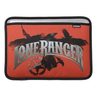 Lone Ranger - Crows and Badge 2 MacBook Sleeves
