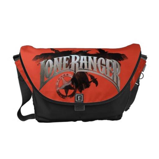 Lone Ranger - Crows and Badge 2 Messenger Bag