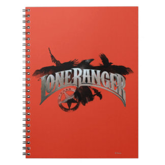 Lone Ranger - Crows and Badge 2 Notebook