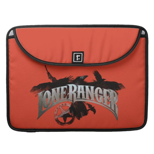 Lone Ranger - Crows and Badge 2 Sleeve For MacBooks
