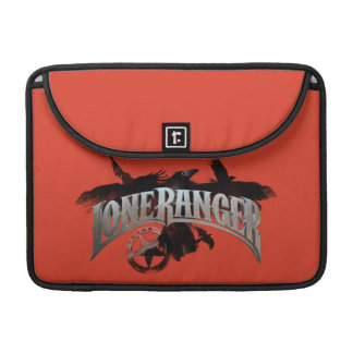Lone Ranger - Crows and Badge 2 Sleeves For MacBook Pro