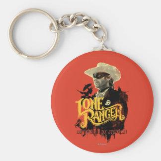 Lone Ranger - Defender of Justice! 2 Keychain