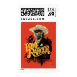 Lone Ranger - Defender of Justice! 2 Postage Stamps