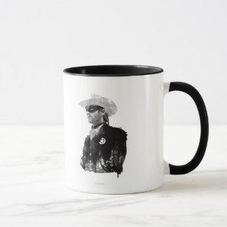 Lone Ranger John Reid - Black and White Mug