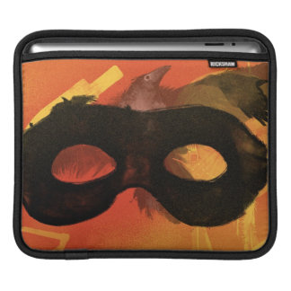 Lone Ranger Mask with Crow 2 iPad Sleeve