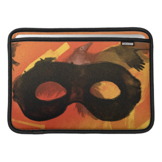 Lone Ranger Mask with Crow 2 Sleeve For MacBook Air