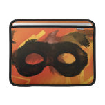 Lone Ranger Mask with Crow 2 Sleeves For MacBook Air