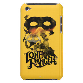 Lone Ranger Train and Mask iPod Touch Case