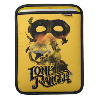 Lone Ranger Train and Mask iPad Sleeve