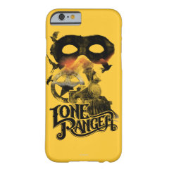 Lone Ranger Train and Mask iPhone 6 Case
