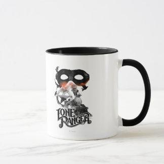 Lone Ranger Train and Mask Mug