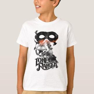 Lone Ranger Train and Mask T-Shirt