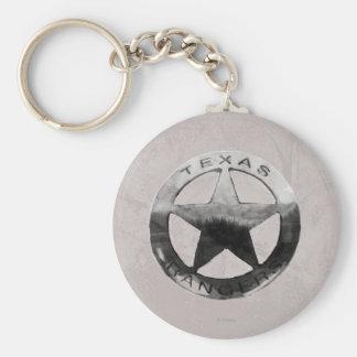 Lone Ranger's Badge Key Chain