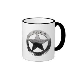 Lone Ranger's Badge Ringer Mug