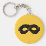 Lone Ranger's Mask 2 Basic Round Button Keychain