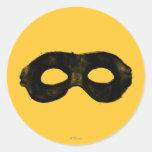 Lone Ranger's Mask 2 Round Sticker
