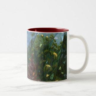 Lone Red Mug