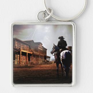 Lone Rider Premium Key Ring Keychain