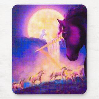 Lone Sage Unicorn Mouse Pad