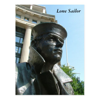 Lone Sailor Postcard
