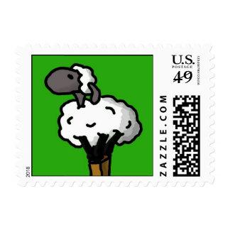 Lone Sheep Postage