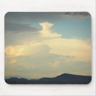 Lone Star Cloud Mouse Pad