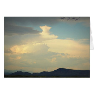 Lone Star Cloud Stationery Note Card