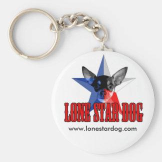 Lone Star Dog Key Chain