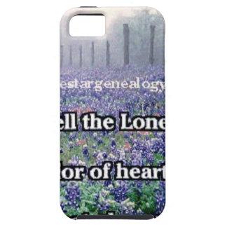 Lone Star Genealogy Poem Bluebonnet iPhone SE/5/5s Case