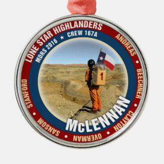 Lone Star Highlanders Crew 167A Metal Ornament