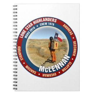 Lone Star Highlanders Crew 167A Notebook