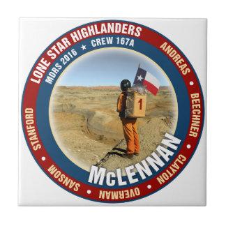 Lone Star Highlanders Crew 167A Tile