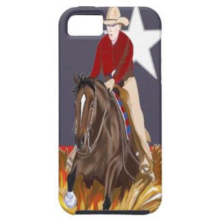 Lone Star Reining Horse iPhone 5 Case-Mate Case