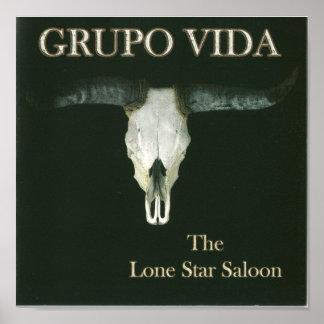 Lone Star Saloon Album Poster