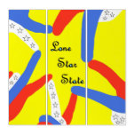 Lone Star State of Texas Triptych