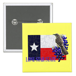 LONE STAR STATE PINBACK BUTTON