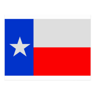 Lone Star Texas Flag Postcard