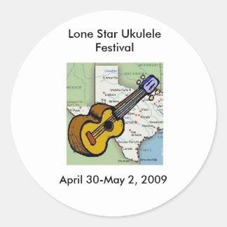 Lone Star Ukulele Festival Merchandise Stickers