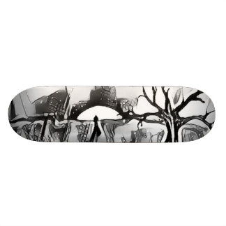 Lone Sun BY JunkDrawr Skateboards