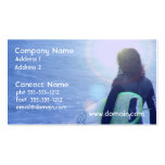 Lone Surfer Business Cards