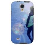 Lone Surfer Galaxy S4 Case