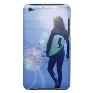 Lone Surfer iTouch Case Barely There iPod Covers