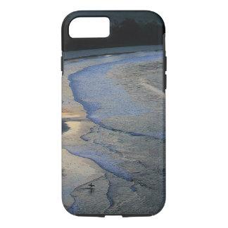 Lone surfer on scenic beach Sumba iPhone 7 Case