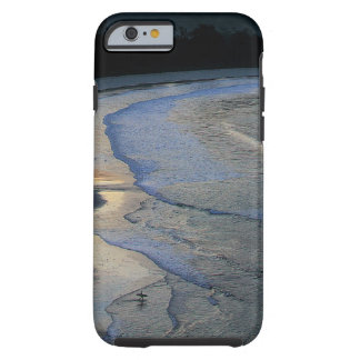 Lone surfer on scenic beach Sumba Tough iPhone 6 Case