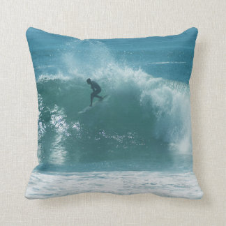 Lone Surfer Pillow
