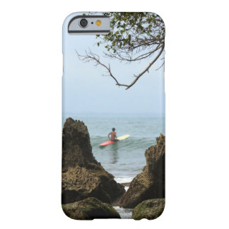 Lone surfer tranquility surfing barely there iPhone 6 case